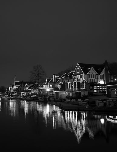 Boat House Row, Philadelphia.