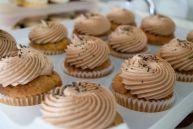 Vanilla peanut butter cupcakes by Buttercream, Philadelphia.