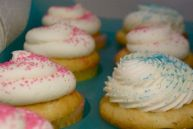 Pastel colored sprinkles ring in spring at Buttercream, Philadelphia.