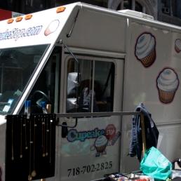 Cupcake Stop truck!