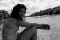Holly Cieczko sits along the Susquehanna River, careful not to dip her toes into one of America's top ten dirtiest rivers.