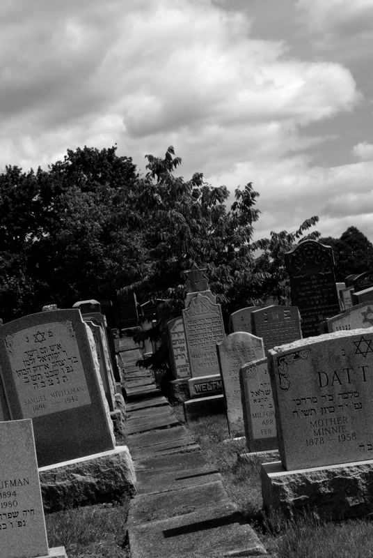 A fenced off section of the Hanover Green Cemetery houses more tombstones of deceased Jewish men and women than a larger span of land would bother to.
