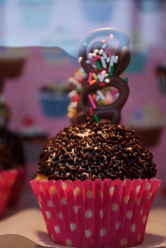 What a sculpture! These cupcakes are truly works of art!