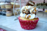 Twix cupcake from Philly Cupcake!