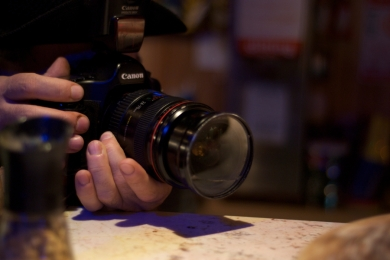 René only encourages me to keep shooting the beautiful desserts he creates at Rim Café, South Philly.
