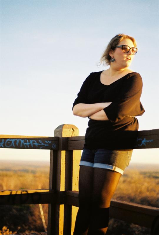 Stephanie Savidge on the Vista.