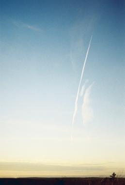 Jet sky pollution.