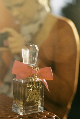 I don't like Juicy Couture or the scent of this perfume but it was a pretty bottle.