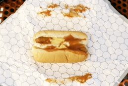 2 Sheetz hot dogs for $1.00.