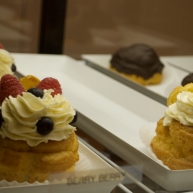 Tutti Frutti on 13th and Walnut Streets has a small bakery in the back as well as being a frozen yogurt spot.