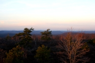 The most interesting view I could find out of the hundreds of photos I took from atop this mountain.