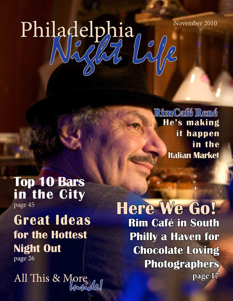 Philadelphia Night Life, a fictive magazine I created for my Design class.
