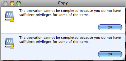 I keep getting this error message when I try to move photos directly from the DVD they are on to my external hard drive, or even to my desktop.  Not fair, these are MY photos.