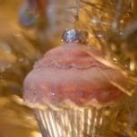 Pink cupcake!