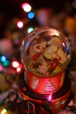 Aunt Nel's snowglobes probably contain more snow than the entire winter season in Wilkes-Barre, PA!
