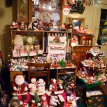 The middle-room contains Aunt Nel's collection of moving-stuffed animals.