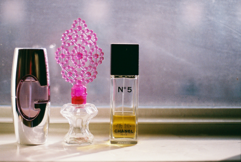 My 3 favorite perfumes. Not only do they smell wonderfully but their bottles are beautifully designed. I have a feeling they did that on purpose.