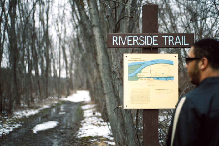 The Riverside Trail - sounds nice. But not.