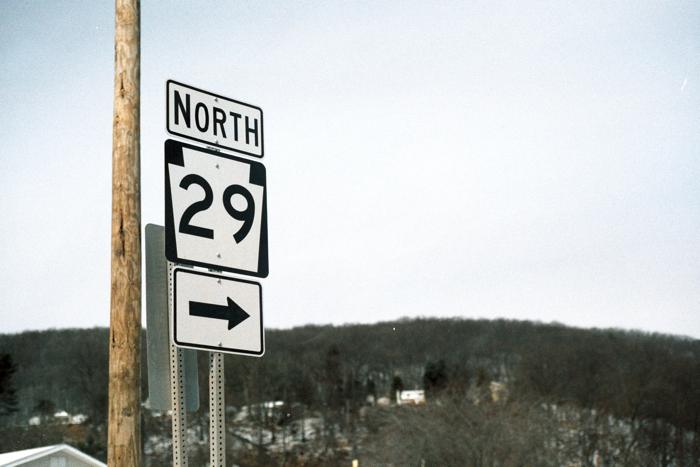 North 29.
