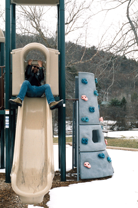 The playground at the Riverlands is much smaller than I remember....
