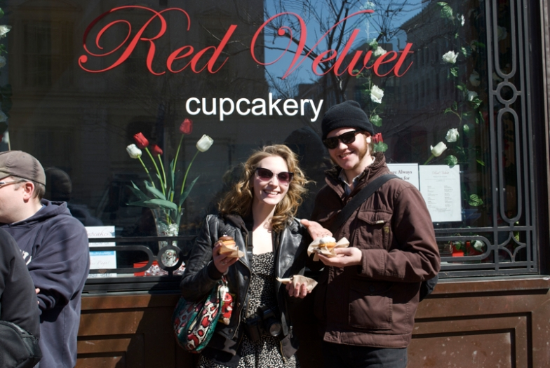 "Red Velvet, ""Best Cupcakes in the Universe,"" Washington D.C."