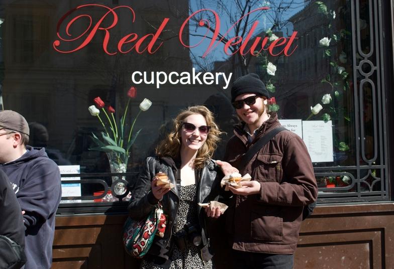 "Red Velvet, ""Best Cupcakes in the Universe,"" Washington D.C."