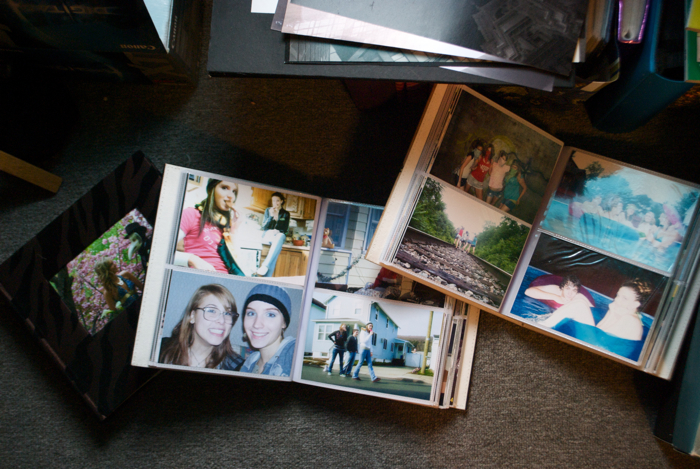 This is how photo albums used to look, before Facebook made them instant pixels.
