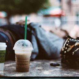 Starbucks, starbucks, sterling.
