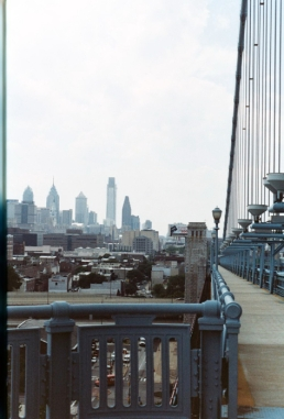 A view from Philadelphia, from halfway to Camden, NJ.