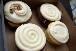 For two little girls, we certainly have a big appetite for cupcakes! Two for now, two for later!