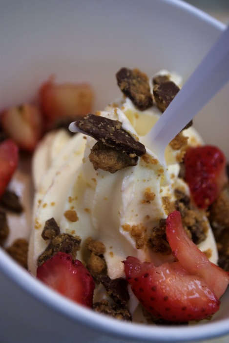 My Frozen Yogurt kick - started by assignments for the Temple News, perhaps one of the better things to come of my photojournalism past.