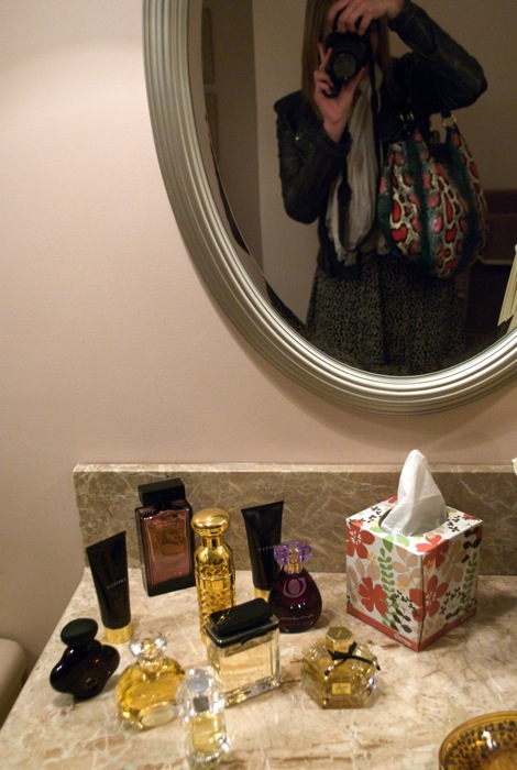 """""""My"""" bathroom had its very own collection."""