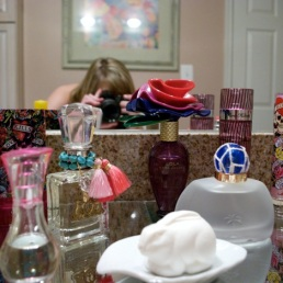 Jaleh and her sister Roya's collection.