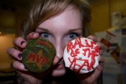 MVP Baller of the Year cupcake night, January 20, 2011.