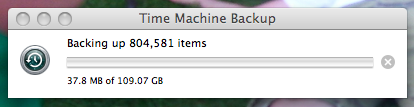 Today, I go hardcore in backing up my files, a feat I have daringly yet to accomplish.