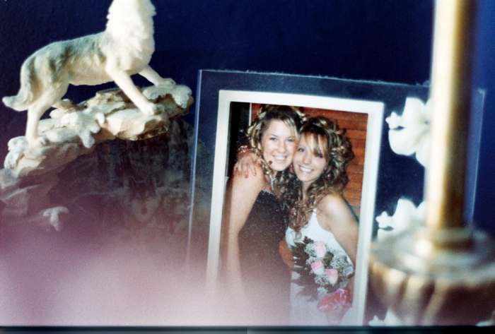 I always kept a photo of Leah & me in this frame since I purchased it 7 years ago.