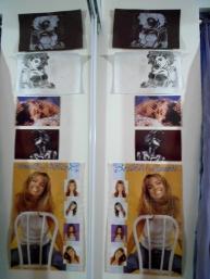 Madonna & Britney.