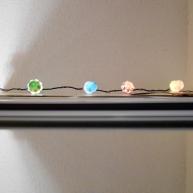 Cupcake string lights.