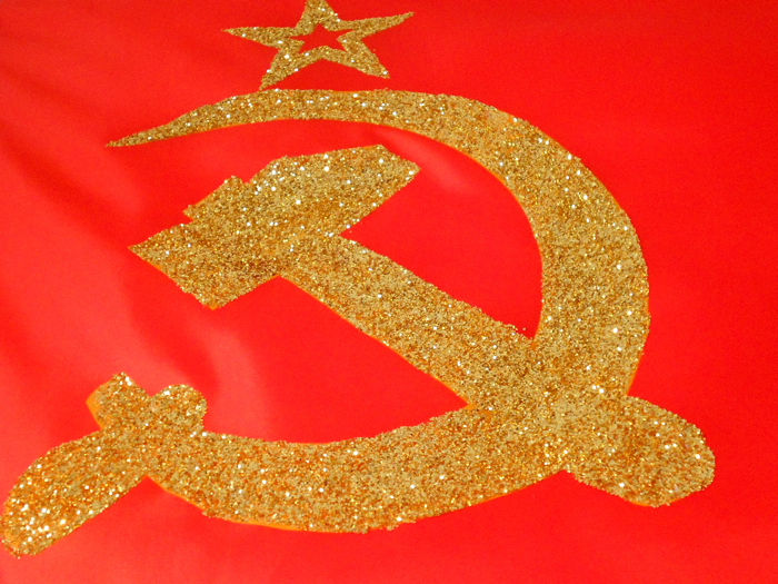 B'dazzled commie.