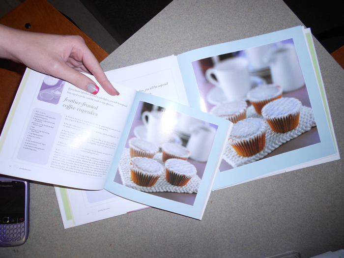 After owning these two cupcake books for about a year, I realized they are exactly the same except in size and covers.