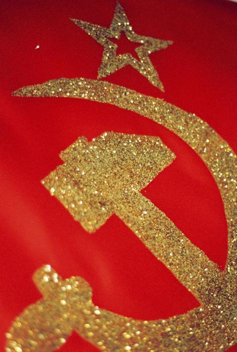 Glitter Commie.
