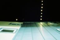 Piazza lights.