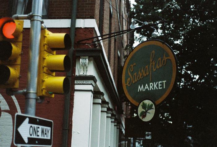 Sassafras, the former name of Race Street.