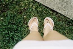 So happy to be fashionably-legally wearing white!