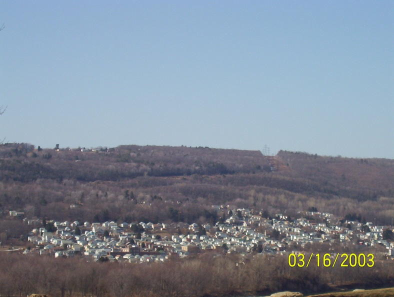 A view of Plymouth and Larksville from Hanover Green.