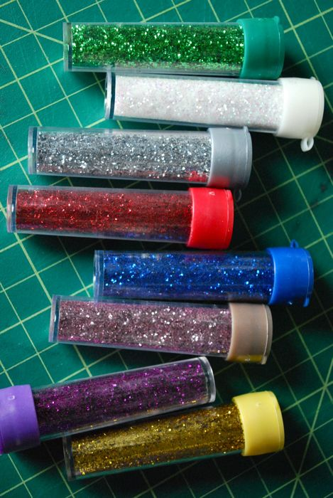 GLITTER! The beginning of a never ending phase.