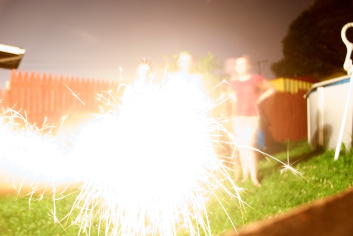 The sparklers work at my house.