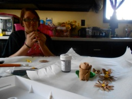 Creating gum paste flowers is no easy task for beginners!