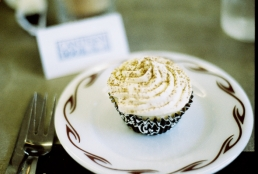 Twisted Cake's Tiramisu cupcake at Canteen 900.