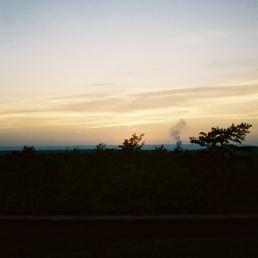 Smoke on the horizon. That's not Berwick!
